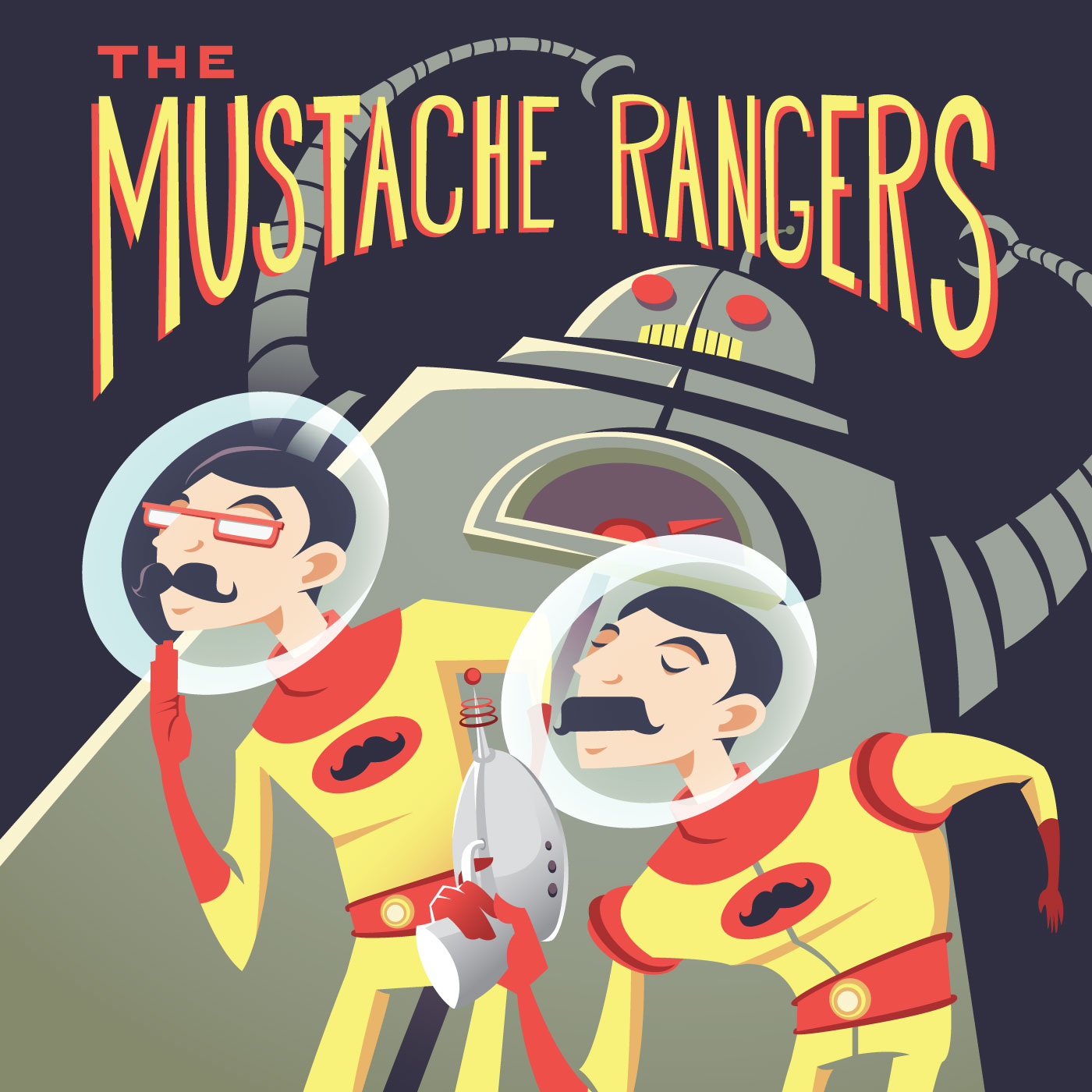 The Mustache Rangers Podcast: Comedy | Sci-Fi | Improv